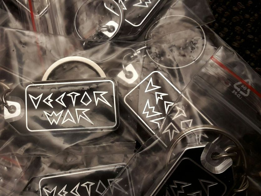 Vector War keyring 1